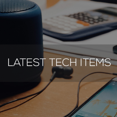 latest tech items